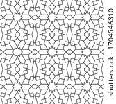 minimal islamic ornament... | Shutterstock .eps vector #1704546310