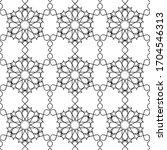 minimal islamic ornament... | Shutterstock .eps vector #1704546313