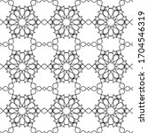 minimal islamic ornament... | Shutterstock .eps vector #1704546319