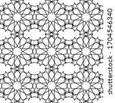 minimal islamic ornament... | Shutterstock .eps vector #1704546340
