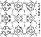 minimal islamic ornament... | Shutterstock .eps vector #1704546343