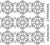 minimal islamic ornament... | Shutterstock .eps vector #1704546346