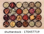 large chinese herbal medicine... | Shutterstock . vector #170457719