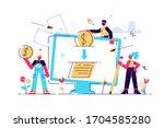 vector illustration ... | Shutterstock .eps vector #1704585280