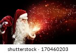 image of santa claus in red... | Shutterstock . vector #170460203