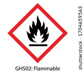 Ghs Pictogram Of Flammable Sig...
