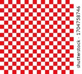 Chess Board Isolated Red White...
