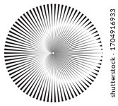 lines in circle form . circular ... | Shutterstock .eps vector #1704916933