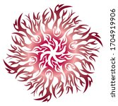 traditional batik motifs for... | Shutterstock .eps vector #1704919906