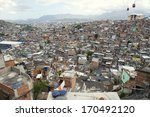 panorama view of brazilian... | Shutterstock . vector #170492120