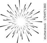circular fireworks explosion... | Shutterstock .eps vector #1704971383