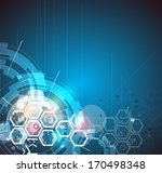abstract global infinity... | Shutterstock .eps vector #170498348