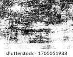 black and white grunge texture. ... | Shutterstock .eps vector #1705051933