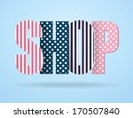 logo in the form of letters... | Shutterstock .eps vector #170507840