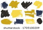 spots and stains ink brush... | Shutterstock .eps vector #1705100209