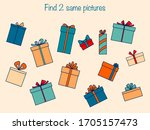 find the same pictures  ... | Shutterstock .eps vector #1705157473
