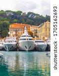 Luxury Super Yachts In The Port ...