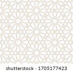Seamless Geometric Ornament...