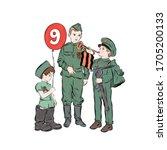 Boys In Military Uniform...