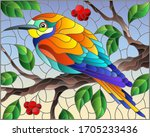 illustration in the style of... | Shutterstock .eps vector #1705233436