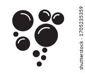 bubble vector line icon. eps 10   Shutterstock .eps vector #1705235359
