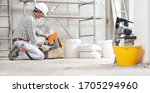 Plasterer Man Construction...