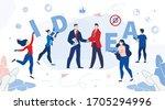 creative innovative idea... | Shutterstock .eps vector #1705294996