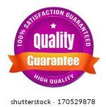 satisfaction guarantee badge   Shutterstock .eps vector #170529878