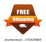 free shipping badge   Shutterstock .eps vector #170529884