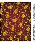 seamless texture  pattern ... | Shutterstock .eps vector #1705348033