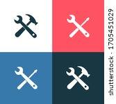 home repair maintenance vector... | Shutterstock .eps vector #1705451029