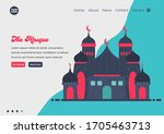 landing page template of mosque ...