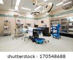 interior of operation room | Shutterstock . vector #170548688