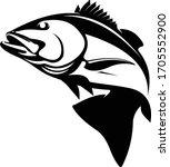 snapper logo  a unique vector... | Shutterstock .eps vector #1705552900