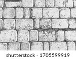 Gray Paving Slabs. Grayscale...