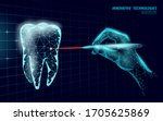 medical healthy human tooth 3d. ...   Shutterstock .eps vector #1705625869