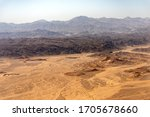 Aerial View Of The Sahara...