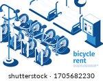 City Bicycle Rent Service Spot...