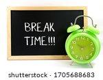 Mini Blackboard Written Break...