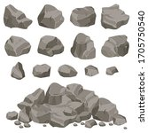 Set Of Stones Of Various Shapes....