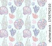 Seashells  Mollusks  Coral And...