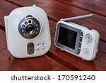 the closeup baby monitor for... | Shutterstock . vector #170591240