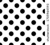 seamless modern circles repeat... | Shutterstock .eps vector #1705964593