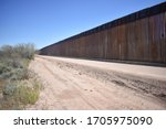Construction of the border wall ...