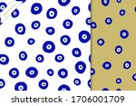 a seamless pattern with turkish ... | Shutterstock .eps vector #1706001709