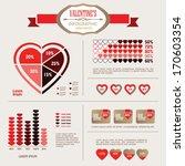 info graphic valentine elements ... | Shutterstock .eps vector #170603354