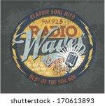vintage broadcasting signboard  ...   Shutterstock .eps vector #170613893