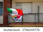 Turin  Piedmont Italy. April...