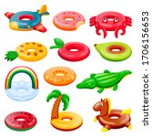 Pool Inflatable Rings Set. Boys ...