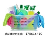 cleaning products and supplies... | Shutterstock . vector #170616410